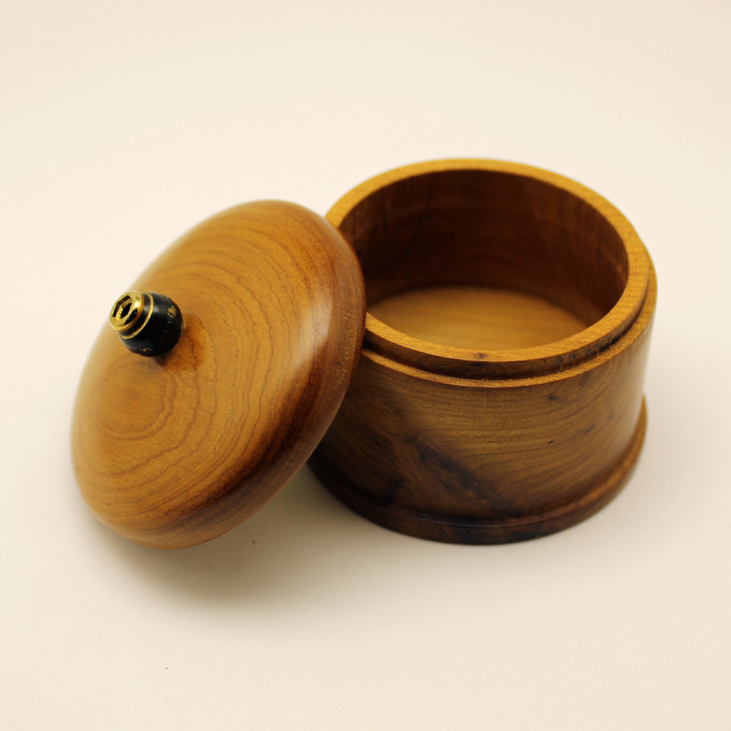 Turned Maple PenPeep Trinket Box